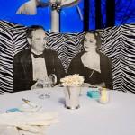 banquette zebre