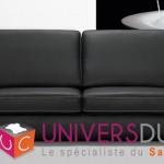 canapé cuir design