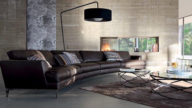 Emejing Salon Cuir Marron Fonce Gallery House Design Marcomilonecom
