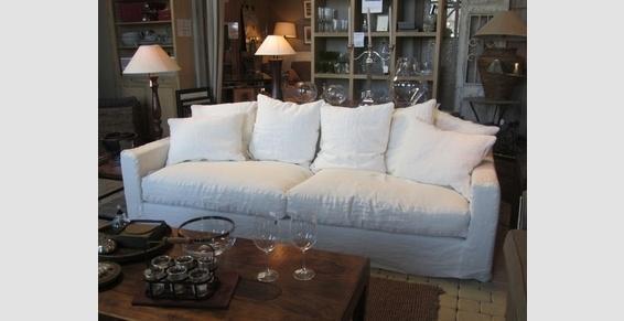 housse de canap lin. Black Bedroom Furniture Sets. Home Design Ideas