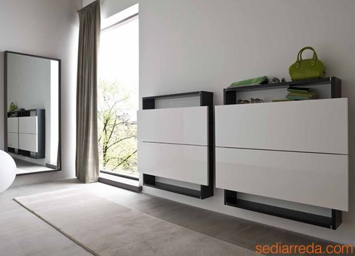 meuble d 39 entr e design italien. Black Bedroom Furniture Sets. Home Design Ideas
