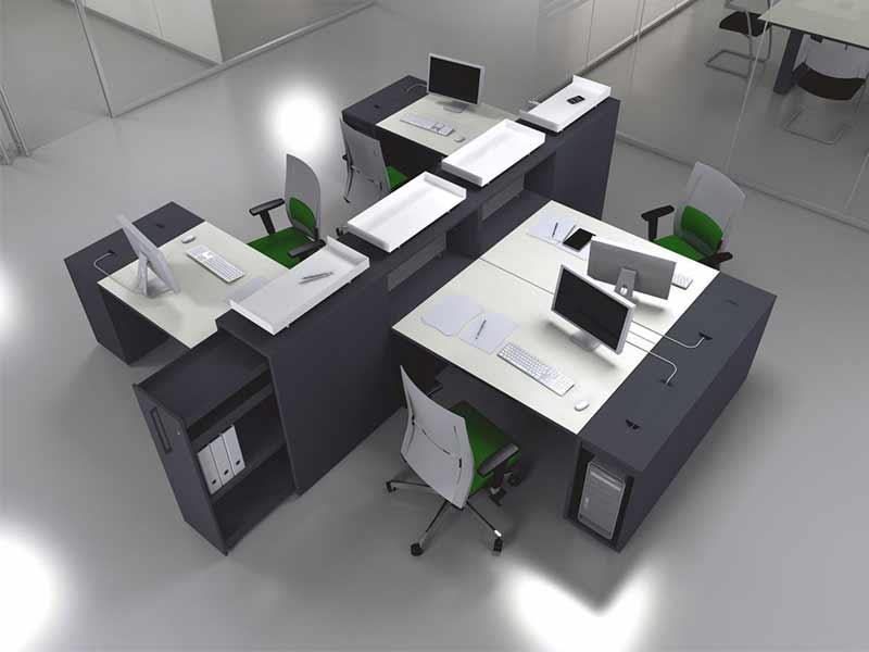 meuble de bureau nice. Black Bedroom Furniture Sets. Home Design Ideas