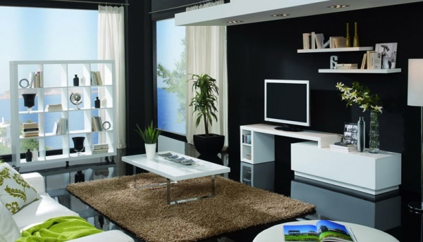 meuble salon a conforama. Black Bedroom Furniture Sets. Home Design Ideas