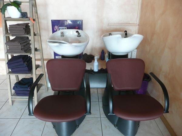 Meuble salon de coiffure occasion for Meuble coiffure