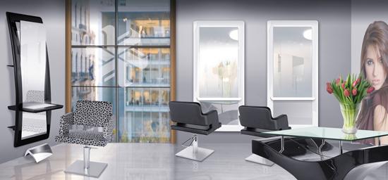 meuble de coiffure. Black Bedroom Furniture Sets. Home Design Ideas