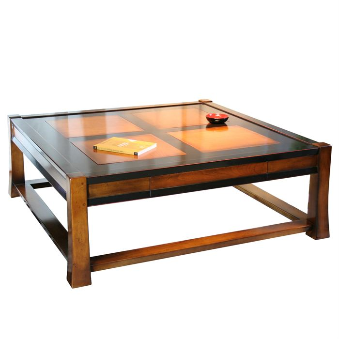 Table basse bar merisier - Table basse merisier ...