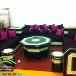 tapis d'or salon marocain