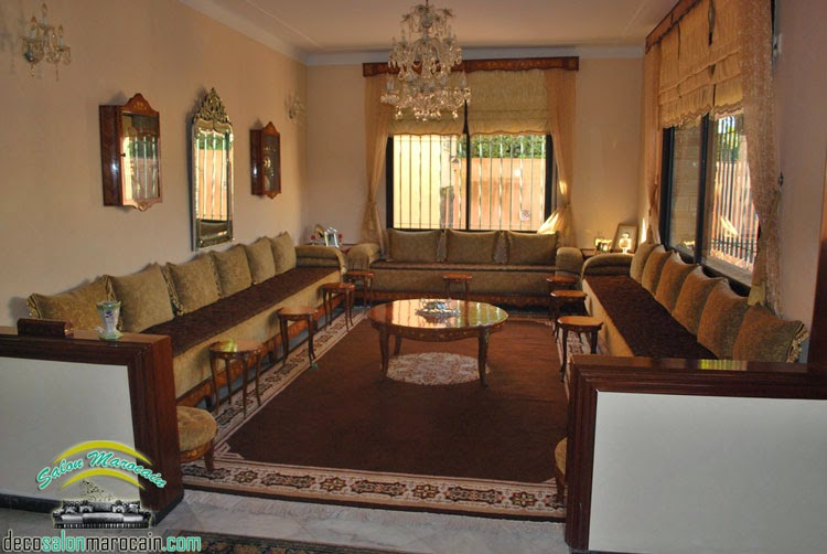 Stunning Salon Marocain Petit Photos - House Interior ...