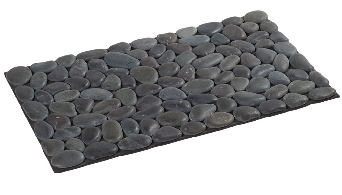 tapis salle de bain galet. Black Bedroom Furniture Sets. Home Design Ideas