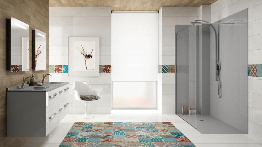 tapis salle de bain grand modele. Black Bedroom Furniture Sets. Home Design Ideas