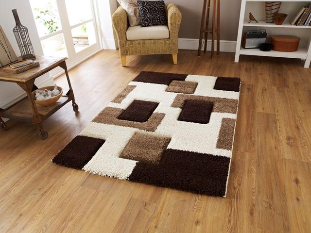 modèle tapis salon epais