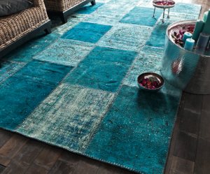 tapis salon patchwork