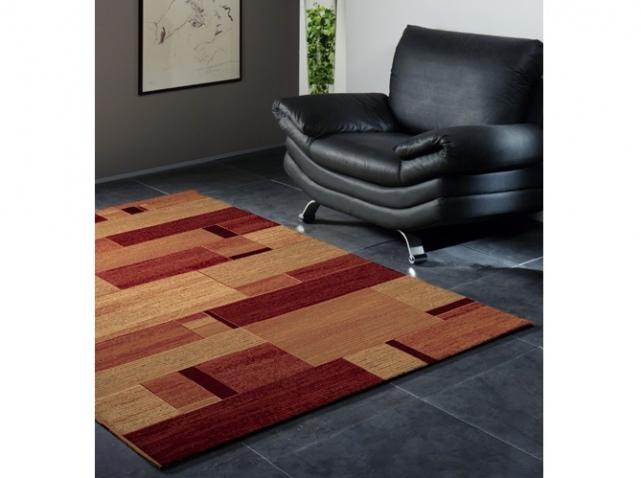 tapis salon patchwork