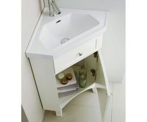 armoire salle de bain d'angle