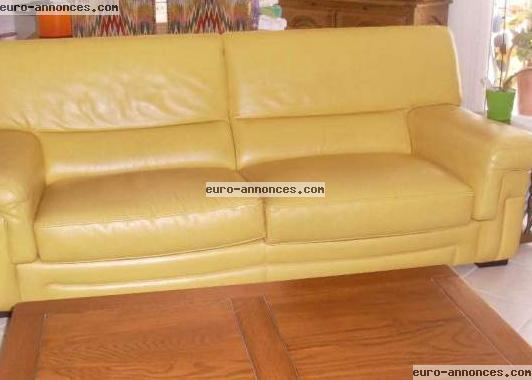 Canape Cuir Jaune. Canap Cuir Angle Dana With Canape Cuir Jaune