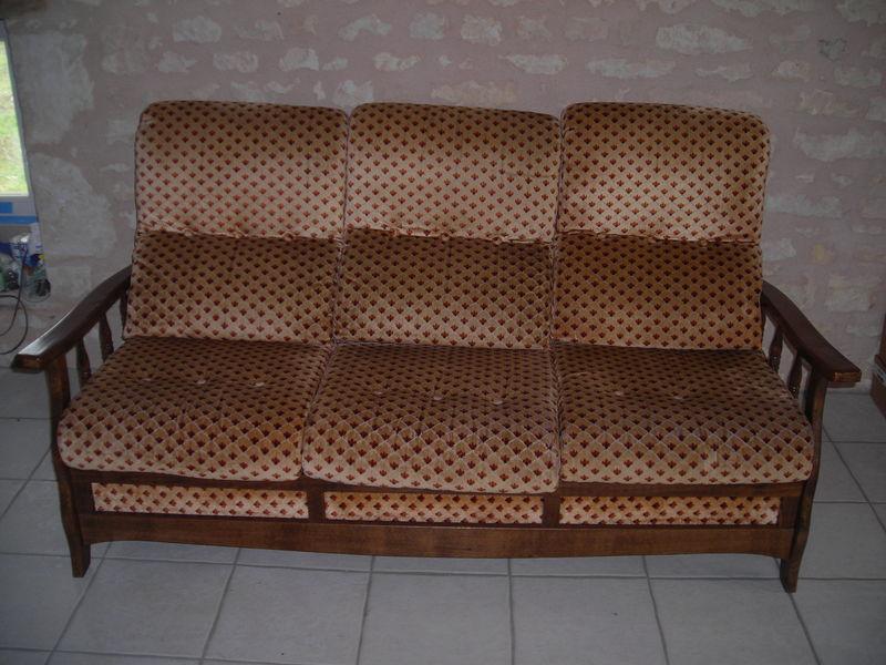 Housse de canap ancien for Transformer un lit en canape