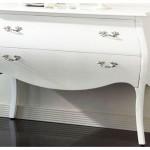 meuble salon laqué blanc