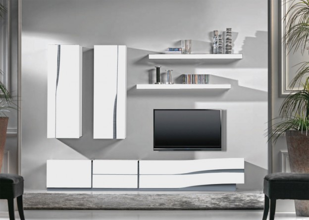 Meuble Salon Design Ensemble Meuble Tv Mural Notte Mobilier Design