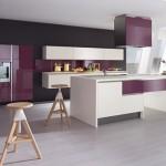 meuble salon violet