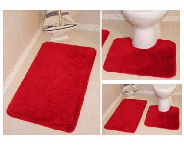 Maison du tapis tapis tapis paris salon marron orange - Tapis salle de bain rose ...