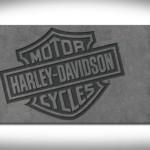 tapis salon harley davidson