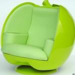 fauteuil poire