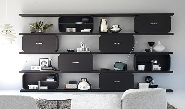 meuble tag re salon. Black Bedroom Furniture Sets. Home Design Ideas