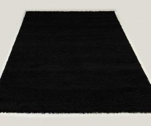 tapis salon noir
