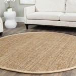 tapis salon rond