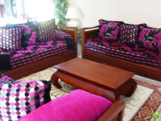 banquette dekor marocaine home design ideen. Black Bedroom Furniture Sets. Home Design Ideas