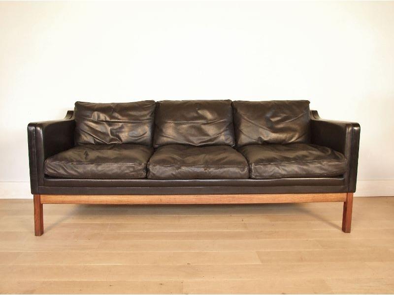 canap cuir scandinave. Black Bedroom Furniture Sets. Home Design Ideas