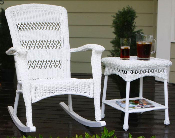 fauteuil à bascule exterieur
