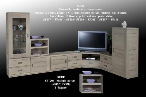 meuble d 39 angle bas salon. Black Bedroom Furniture Sets. Home Design Ideas
