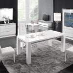 meuble design blanc laqué