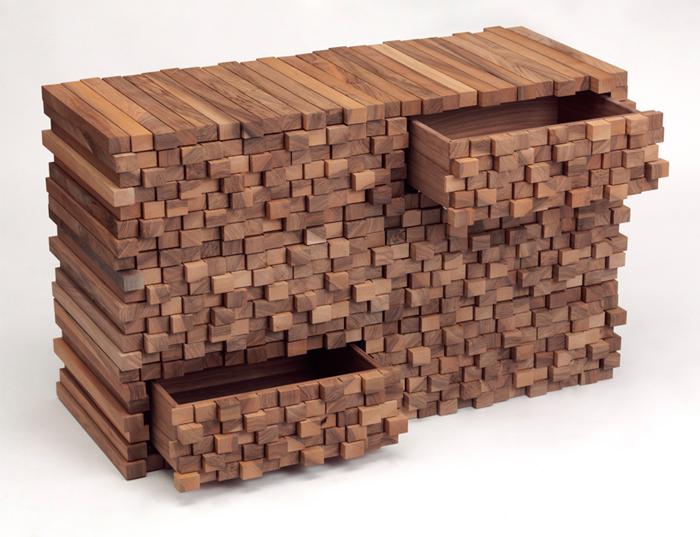 Mobilier Design Bois. Motivant Tables Roulantes Design Accueil Gt