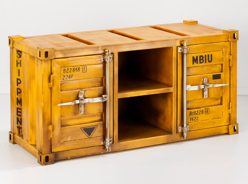 meuble design jaune