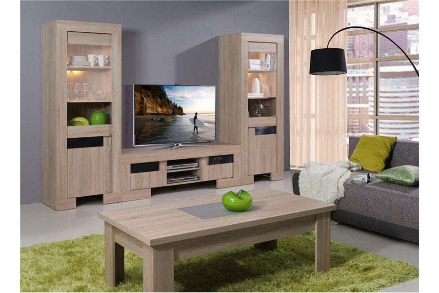 exemple meuble salon en bois