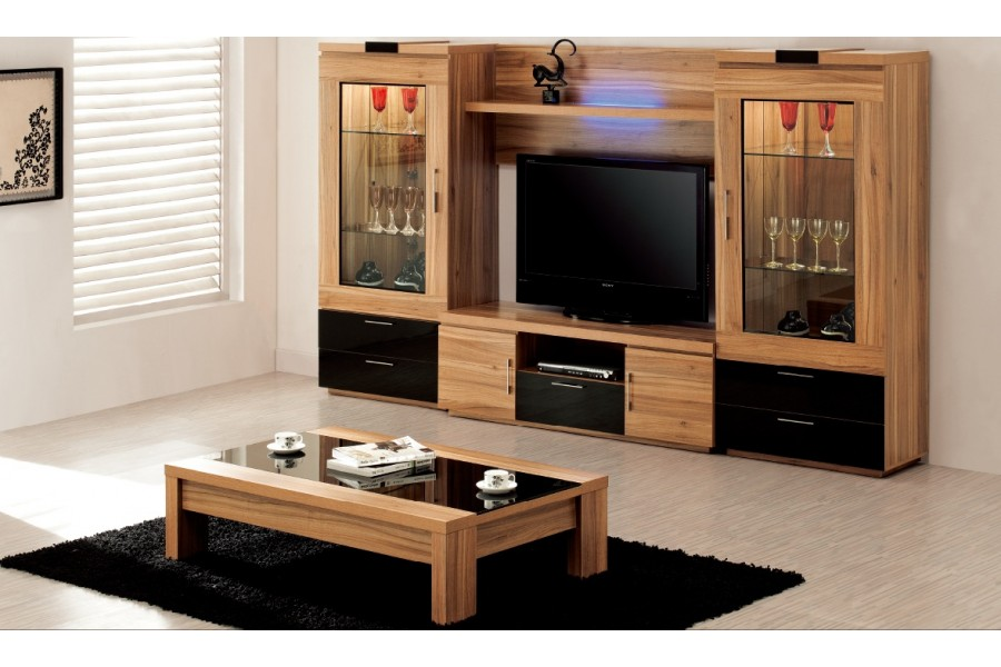 visuel meuble salon en bois