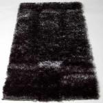 tapis salon noir pas cher