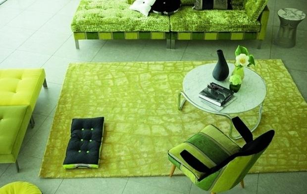Tapis Salon Vert Anis | tilburgsourdough