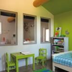 tapis salon vert pomme