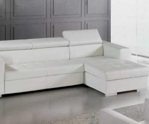canapé cuir blanc ikea