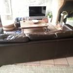 canapé cuir maison du monde