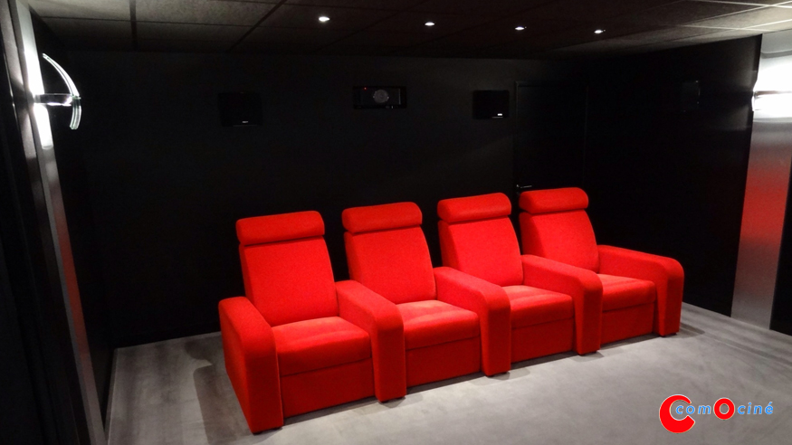 Fauteuil home cinema for Fauteuil cinema maison
