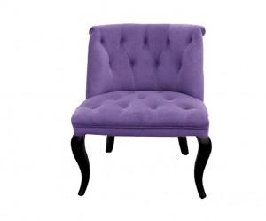 fauteuil violet