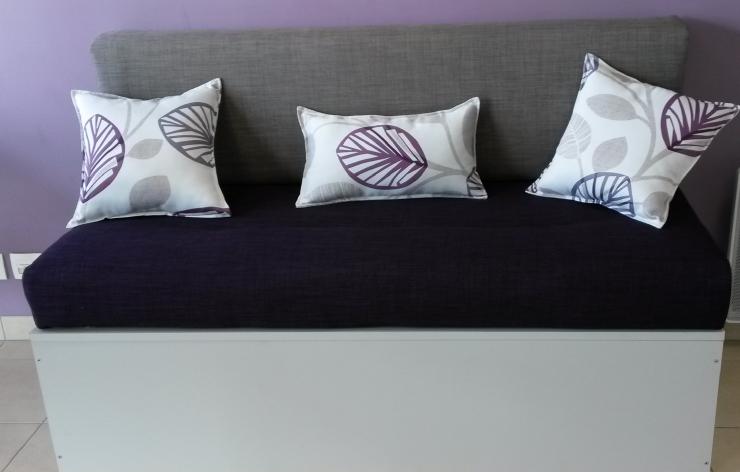 housse de canap mobil home. Black Bedroom Furniture Sets. Home Design Ideas