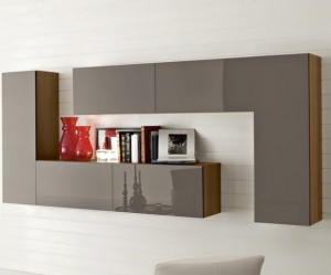 meuble a suspendre pour salon