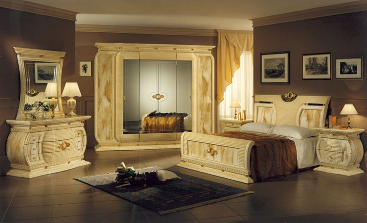 Chambre design italien for Meuble chambre design italien