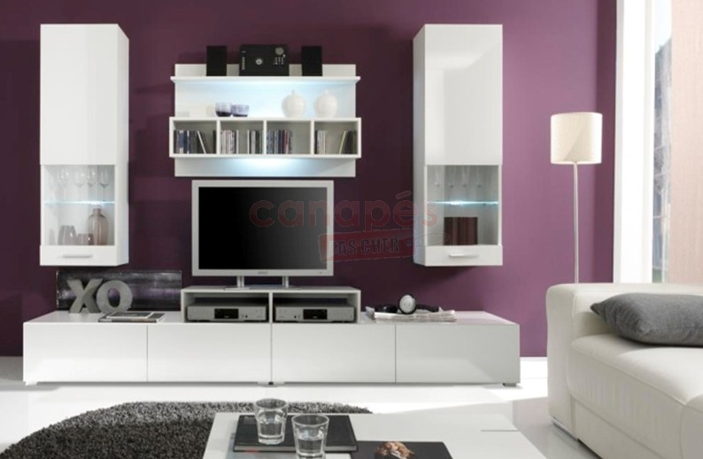 meuble salon cdiscount elegant armoire de chambre. Black Bedroom Furniture Sets. Home Design Ideas