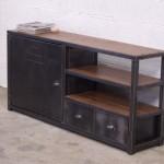 meuble salon industriel